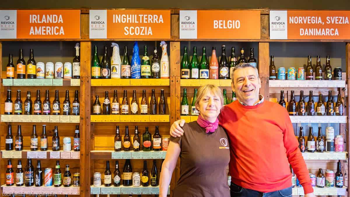 shop Rievoca beer: un negozio con più di 200 tipi di birre, chiedici e troveremo la birra che cerchi