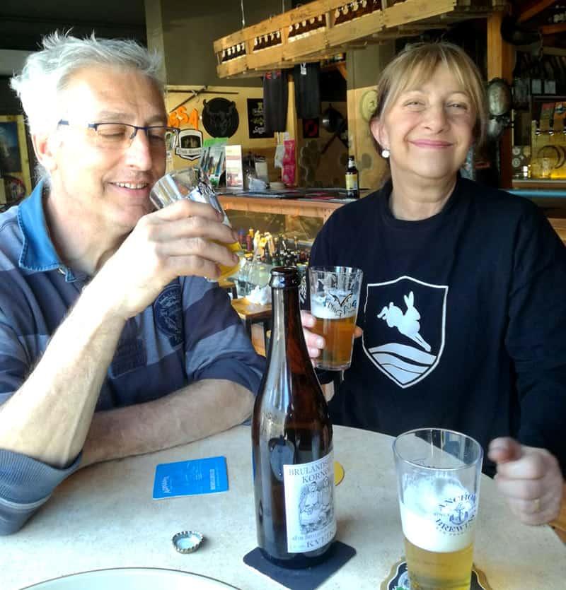Fabio ed Elana passione per la birra artigianale a rievoca Beer