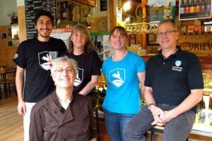 Libby e Rick, del birrificio Kinnegar in Donegal