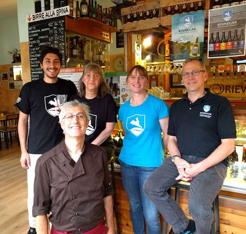 Staff di Rievoca Beer, cucina, spillatura, sala.. accoglenza e competenza